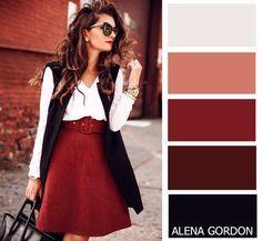 Color-Block Fashion by Alena Gordon