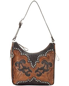 Womens Annies Secret Collection Zip-Top Structured Hobo MSRP  $193.80 American West  http://websites-buy.com/countryoutfitter.com