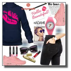 """""""Snapmade-V/10"""" by dzemila-c ❤ liked on Polyvore featuring Zara, ASOS, NIKE and Sigma"""