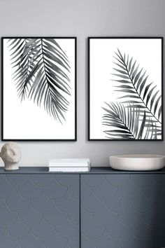 Coconut leaves set by ARTbyASolo, Tropical leaves set, Gray art set, Monstera poster, Palms illustration, Banana leaf print, Modern wall decor This nice watercolor printable wall art is perfect for your HOME, OFFICE, NURSERY and KITCHEN. These files are ready to download immediately. There's no need to wait days for the mail to come. You save time and money on shipping.