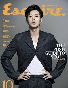Park Hae Jin is a dandy gentleman in 'Burberry Prorsum' for Hong Kong's 'Esquire' | http://www.allkpop.com/article/2014/09/park-hae-jin-is-a-dandy-gentleman-in-burberry-prorsom-for-hong-kongs-esquire