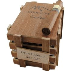 Shop Now Caldwell Iberian Express Gibraltar Extra Gran Robusto Cigars - Natural Box of 25 | Cuenca Cigars  Sales Price:  $150.99