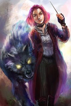 """Don't Calle me Nymphadora"" Tonks and Remus"