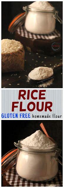 First Timer Cook: Rice Flour (Gluten free Flour)