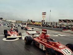 28 April 1974 Niki Lauda won the Spanish Grand Prix with Ferrari