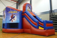 Spiderman Bounce house... i have to get this!!!!