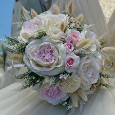 Accessoires - Brautsträuße Janiella und anstecker - ein Designerstück von Wandadesign bei DaWanda
