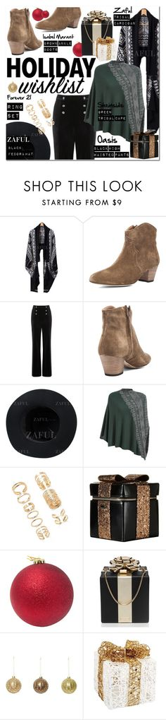 """What's on Your Wish List?"" by vanjazivadinovic ❤ liked on Polyvore featuring Oasis, Isabel Marant, Forever 21, Alice + Olivia, Kate Spade and Melrose International"
