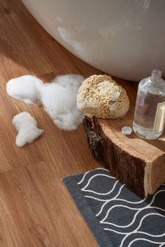 wasserfester Designboden Holzoptik Eiche. Kostenlose Muster und Beratung bei planeo.de #vinylboden #flooring