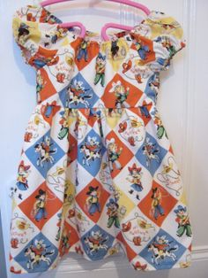 How cute is this little one, I fell in love with the fabric, this is available on my etsy site Lilrockabillyrebel Cowboy And Cowgirl, Vintage Crafts, I Fall In Love, Kitsch, Rockabilly, Floral Tops, My Etsy Shop, Fabric, Girls