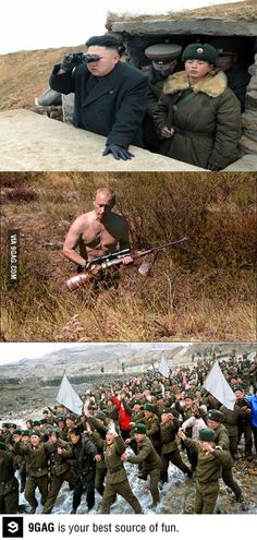 So you are scared now? So you are scared now? Army Jokes, Military Jokes, Army Humor, Very Funny Memes, Stupid Funny Memes, Funny Images, Funny Photos, Russian Memes, History Memes