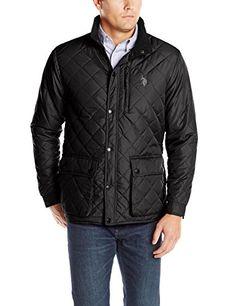 50% Off. U.S. Polo Assn. Men's Diamond Quilted Jacket, Black, Medium U.S. Polo Assn. http://www.amazon.com/dp/B00LIQOZ6A/ref=cm_sw_r_pi_dp_hqSpub1F9TA97