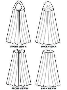 ranger's apprentice cloak pattern - Google Search