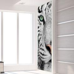 GoBig White Tiger L | Stickers murali, Adesivi decorativi, Wall Stickers