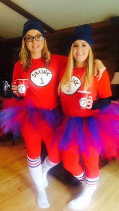 Drunk 1 & Drunk 2 DIY Halloween Costume! ❤️