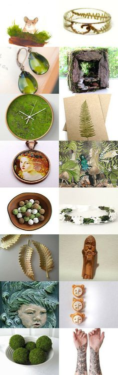 Woodland Secrets by Vikki Pike on Etsy--Pinned with TreasuryPin.com