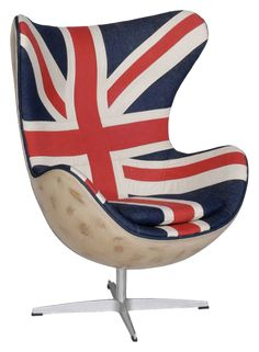 Hirshorn chair Vintage Union Jack by Andrew Martin. Available from Andrew Martin.