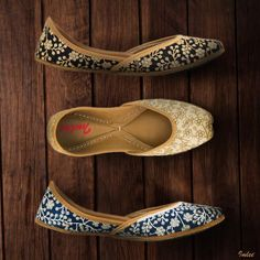 Sequined Floral Jaal Leather Mojaris, never fading elegance.