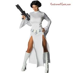 Star Wars Sexy Princess Leia Adult Costume at Costumes4Less.com