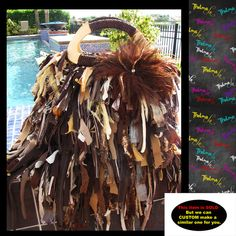 Fabulous Feathers & Ultra Fringe One of a Kind by iLoveThelmaLu, $100.00