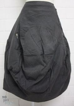"www.modegalerie-bongardt.de - rundholz mode, rundholz black label, Rundholz DIP Rundholz black label winter 2014, fancy balloon-skirt ""zippe..."