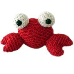Crab Stuffed Animal Crochet Pattern
