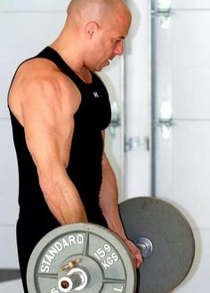 It's a big day for Vin Diesel! The action star and his spectacular muscles turn 47 today. Michelle Rodriguez, Paul Walker, Dwayne Johnson, Fast And Furious, Vin Diesel Twin, Diesel Fuel, Vin Diesel Workout, Dom And Letty, Dominic Toretto