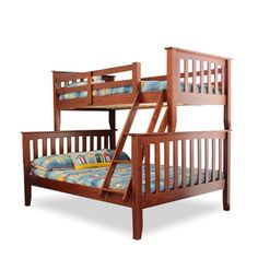 BedsOnline have a large range of Bunk Beds available at competitive prices. Buy Online or Call 1300 112 Double Bunk Beds, Kids Bunk Beds, Loft Spaces, Bed Frame, Wood, Miami, Furniture, Home Decor, Twin Bunk Beds