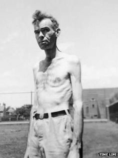 A participant of the Minnesota experiment -- All over Europe people were starving - in the Netherlands, in Greece, in eastern Europe and the Soviet Union - and the US military wanted to learn how best to re-feed them. But first they had to find healthy people willing to be starved.