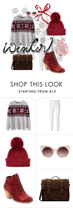 """""""It's winter!"""" by danieluska ❤ liked on Polyvore featuring Chicnova Fashion, Rick Owens Lilies, Portolano, WithChic, Free People, Dr. Martens and Winter"""