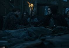 Beats a fate worse than death: Being torched meant they could not be enslaved by White Walkers