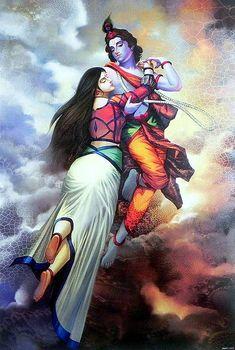 "The love of Radhe Krishna is divine. Radha and Krishna have been inspiring all since thousands of years ago. We … Read More Radha Krishna Images And Photos"" Krishna Hindu, Baby Krishna, Jai Shree Krishna, Radha Krishna Photo, Hanuman, Radha Krishna Paintings, Krishna Leela, Shiva Shakti, Hindu Deities"