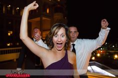 Some guests get really excited about the dancing portion of the reception. #wedding #idaho #coeurdalene #guest #reception #dancing #excitement #reallyexcited #ssmerkel