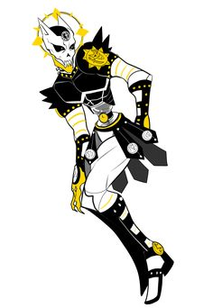 under divine providence; killer queen + over heaven Jojo's Bizarre Adventure Stands, Jojo Bizzare Adventure, Fantasy Armor, Dark Fantasy, Fan Made Stands, Oc Manga, Jojo Stands, Character Art, Character Design