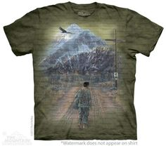 The Mountain Patriotic T-shirt | The Homecoming, New 2014 Adult T-shirts from The Mountain, 103844