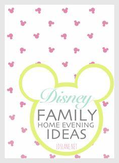 Family Home Evening: Disney Movies