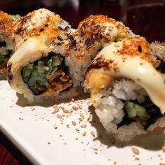Spicy Sakekawa rolls @ Bento Ramen (Japanese food)