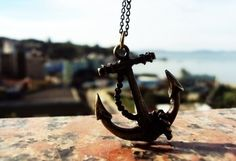 Not a sailor, just love anchors.