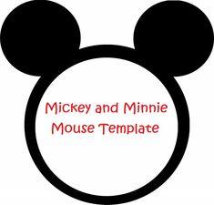 Minnie Mouse invitation template - lilsprinkles.com