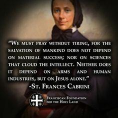 ~St. Frances Cabrini