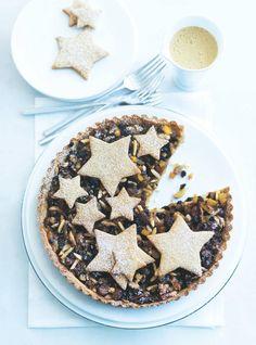 spiced brown sugar mince pie