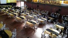 El Centro Gallego pronto para recibir el Encuentro de Peñas oficiales #Peñarol