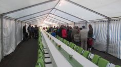 Guinness World Record last summer in Nauvo: The longest table measured 163.58 m http://www.guinnessworldrecords.com/records/longest-table
