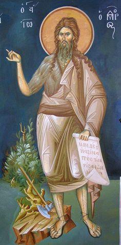 Byzantine Art, Saint John, John The Baptist, Catholic Art, Orthodox Icons, Christ, Saints, Princess Zelda, Fictional Characters