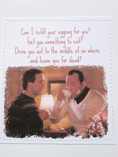 Aww.... I'm alright Clark...one of my fav Christmas movies!!