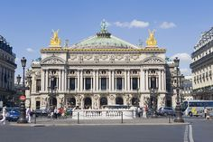 The opulent Opéra Garnier was built in the late 19th century by Charles Garnier and famously served as the setting of Gaston Leroux's 1910 novel The Phantom of the Opera.