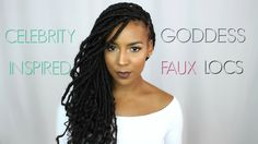 Goddess Faux Locs [Video]  Read the article here - http://blackhairinformation.com/video-gallery/goddess-faux-locs-video-4/