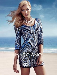 guess marciano fw4 Hunter & Gatti Shoot Guess by Marcianos Glam Fall 2013 Campaign #Sequins