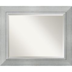 Large Romano Wall Mirror (€185) ❤ liked on Polyvore featuring home, home decor, mirrors, silver, beveled mirror, outside mirrors, metallic mirror, outdoor mirror and outdoor home decor