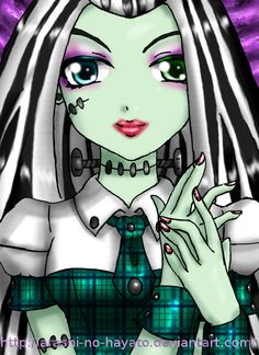 Frankie - Monster High by Arashi-no-Hayato.deviantart.com on @deviantART